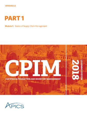 cpim part 1 apics training rh apics training apics cpim exam content manual pdf APICS CPIM Modules