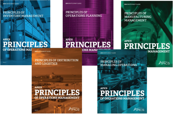 The APICS Principles of Operations Management program